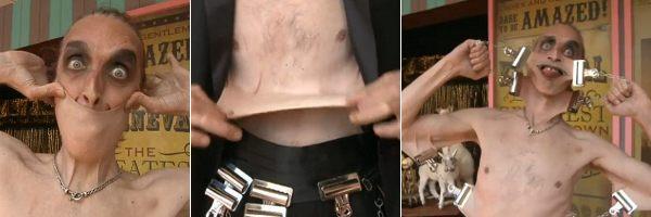 Gary Turner pemilik kulit paling elastis di Dunia