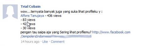 "Waspada Aplikasi ""Intip Profile"" di Facebook,"