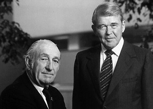 william hewlett and david packard Duet Maut dari 4 Raksasa TI Dunia
