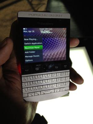 Harga dan Spesifikasi BlackBerry P9981 BB Mahal