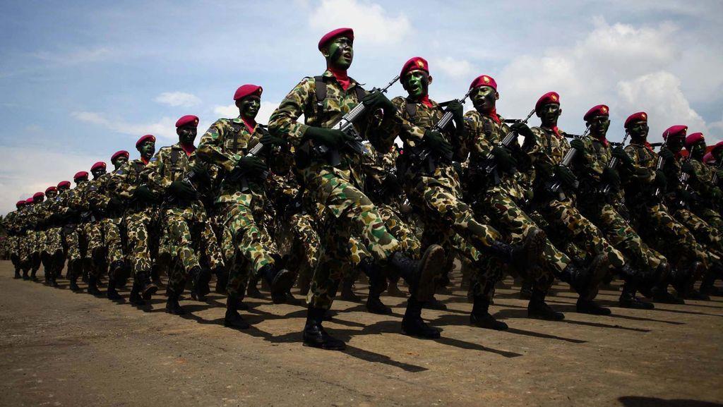 Dopper Disebut Ekstrem Oleh Asing, Marinir: Ada Latihan yang Lebih Bahaya