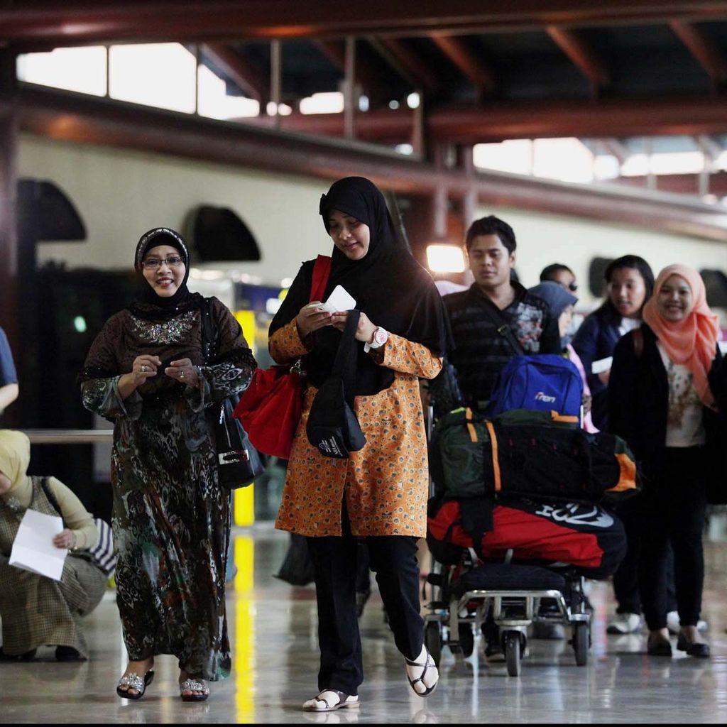 Puncak Arus mudik di Bandara Soekarno-Hatta H-2, Arus Balik H+5