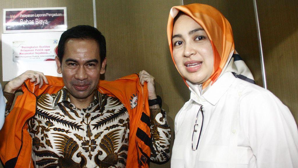 Airin Rachmi Diperiksa KPK sebagai Saksi Kasus TPPU Wawan