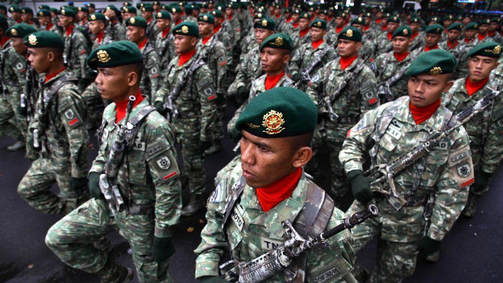 10 Jabatan Strategis TNI AD Diserahterimakan di Cilodong