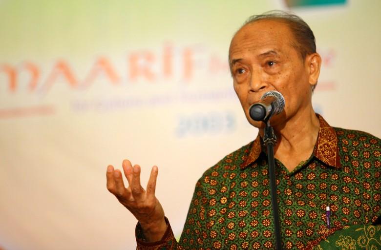 Syafii Maarif Sebut Kang Yoto Tak Kalah dari Risma, Ahok atau Ridwan Kamil