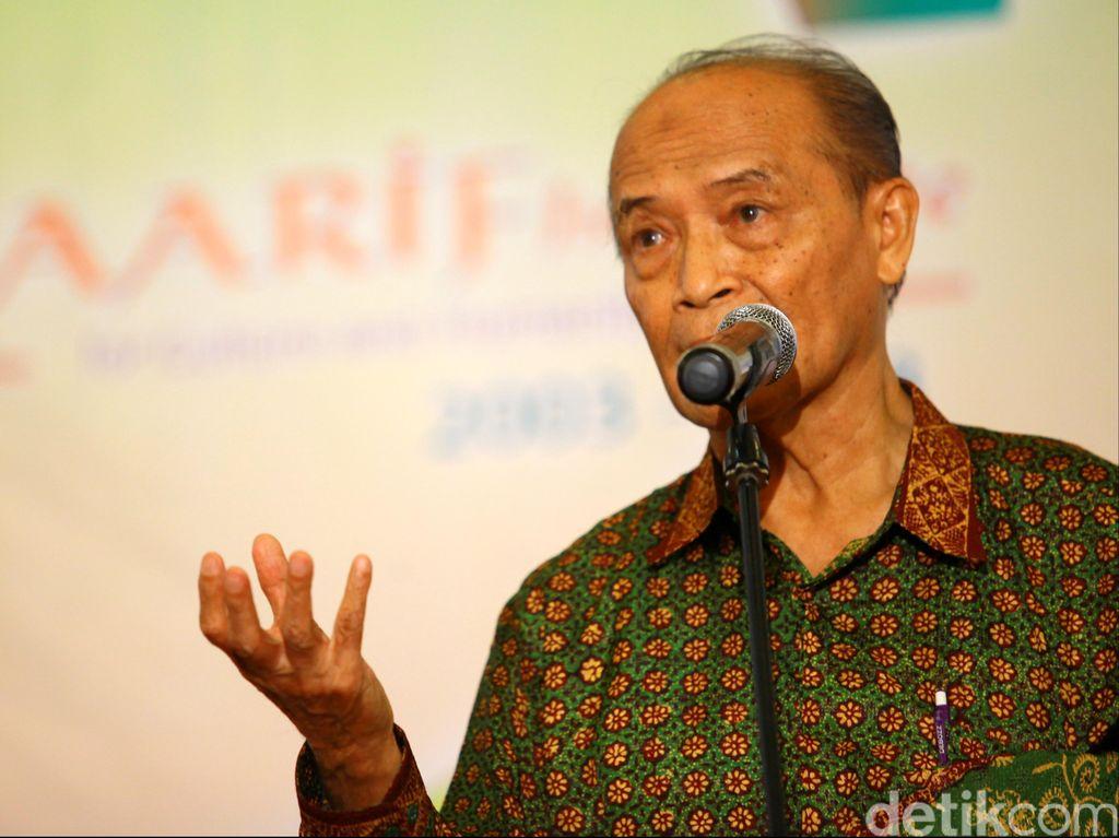Buya Syafii: Ahok Berani dan Buat Terobosan Pimpin Jakarta