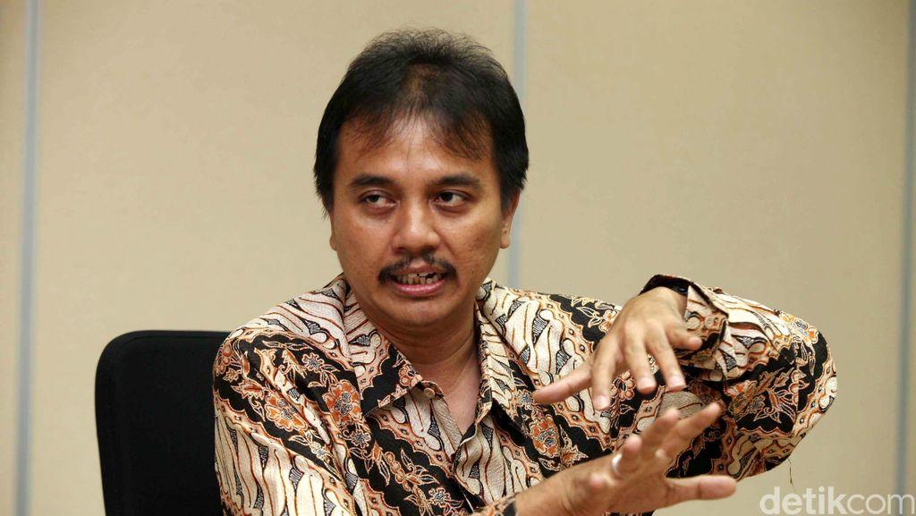 Roy Suryo: Tidak Logis Saya Disebut Bawa Pompa Air