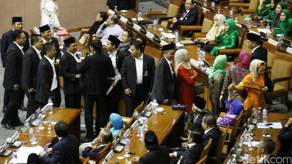 Wakil Rakyat PDIP-NasDem-Golkar Paling Banyak Dukung Pembubaran KPK
