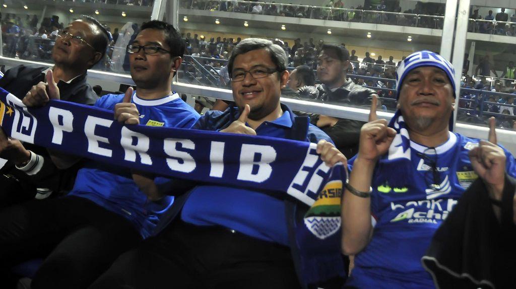Persib vs Sriwijaya di GBK, Deddy Mizwar: Kalau Pak Jokowi Datang Amanlah