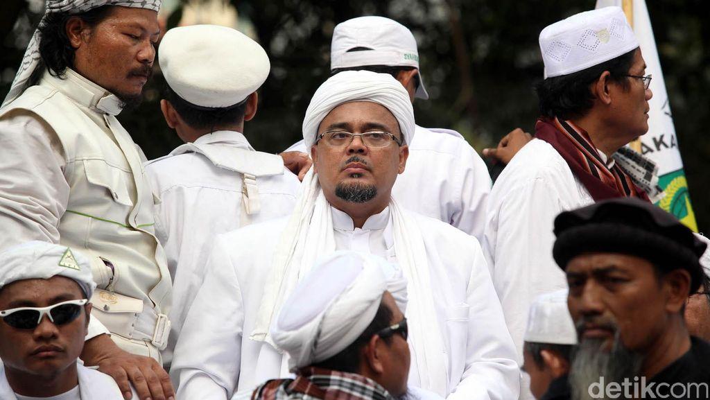 Rizieq Shihab Dipolisikan, FPI: Yang Disampaikan Soal Sampurasun itu Dakwah