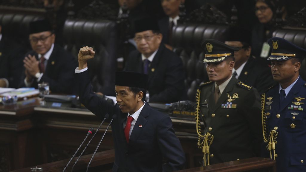 Pimpinan MPR Undang Jokowi Laporkan Kinerjanya 15 Agustus