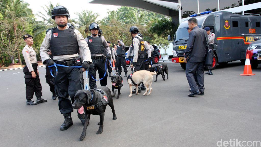 PT Argo Pantes di Tangerang Dibobol Maling, Polisi Terjunkan Anjing Pelacak