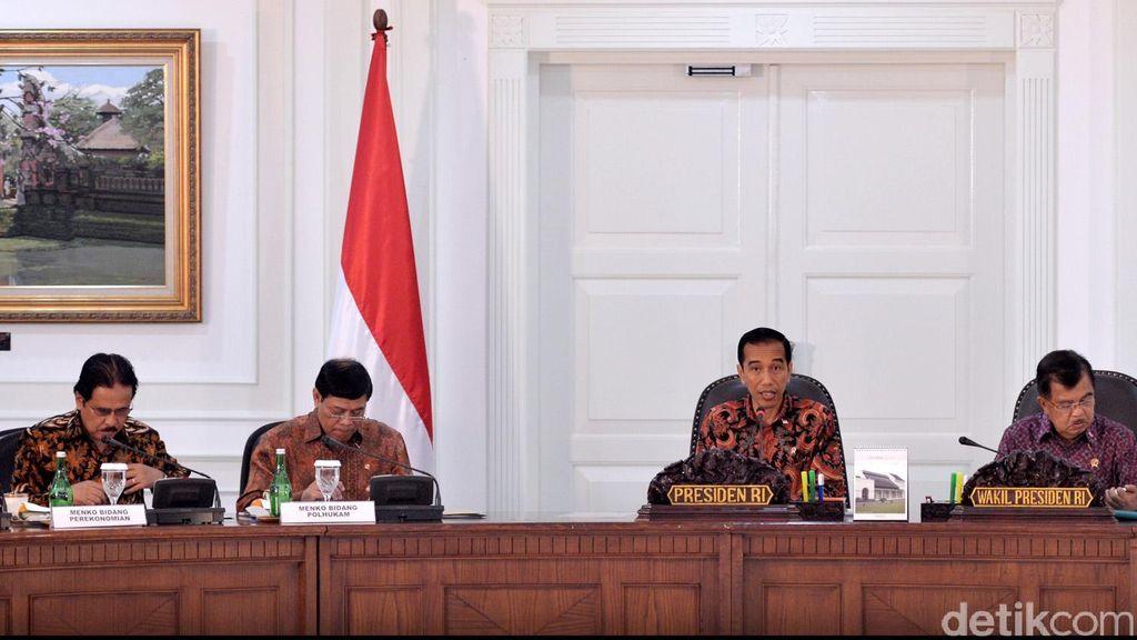 Menteri Dilarang Keluar Jakarta, Menkum Yasonna: Reshuffle Urusan Presiden