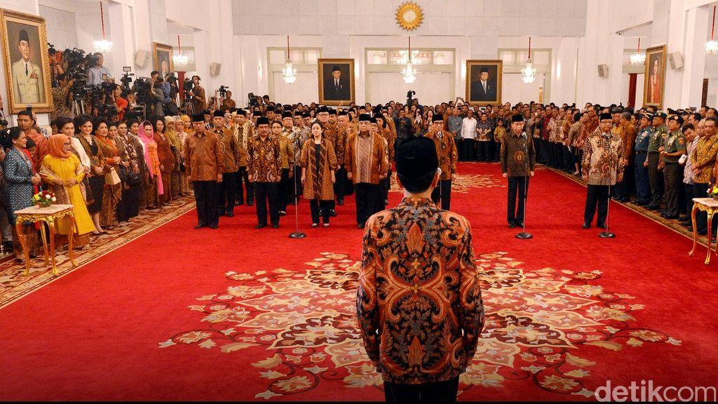 Desak Reshuffle, PAN: Menteri Kabinet Jokowi Tidak Ada yang Hebat