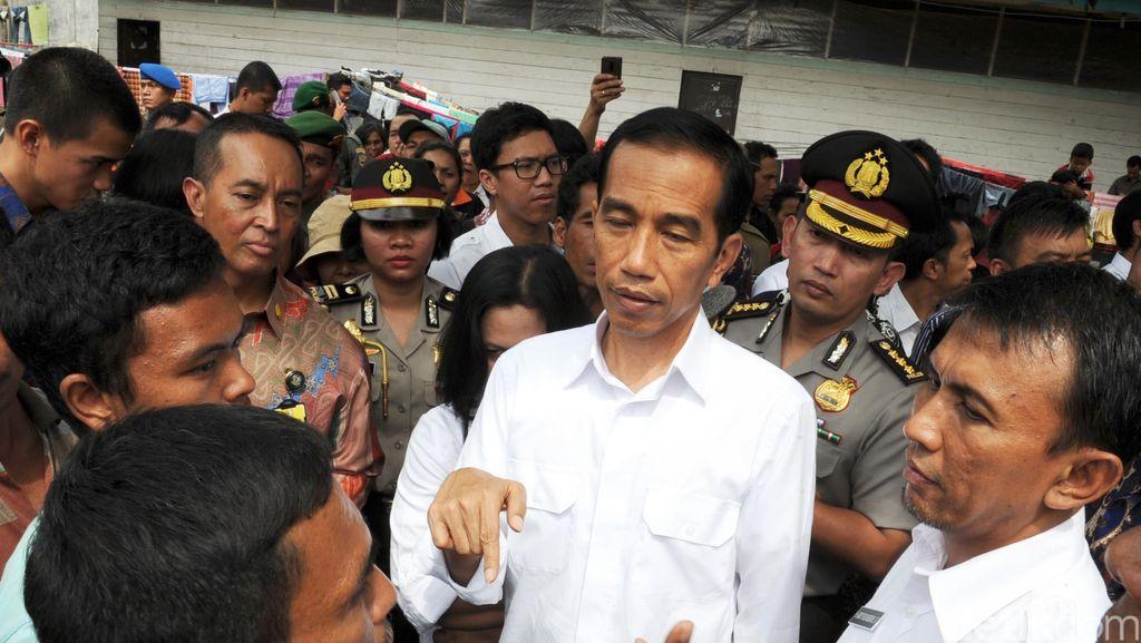 Besok Jokowi ke Sinabung Pantau Relokasi Pengungsi