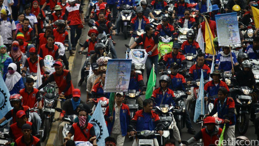 Polisi Siapkan Rekayasa Pengalihan Arus Demo Buruh Besok, ini Rutenya