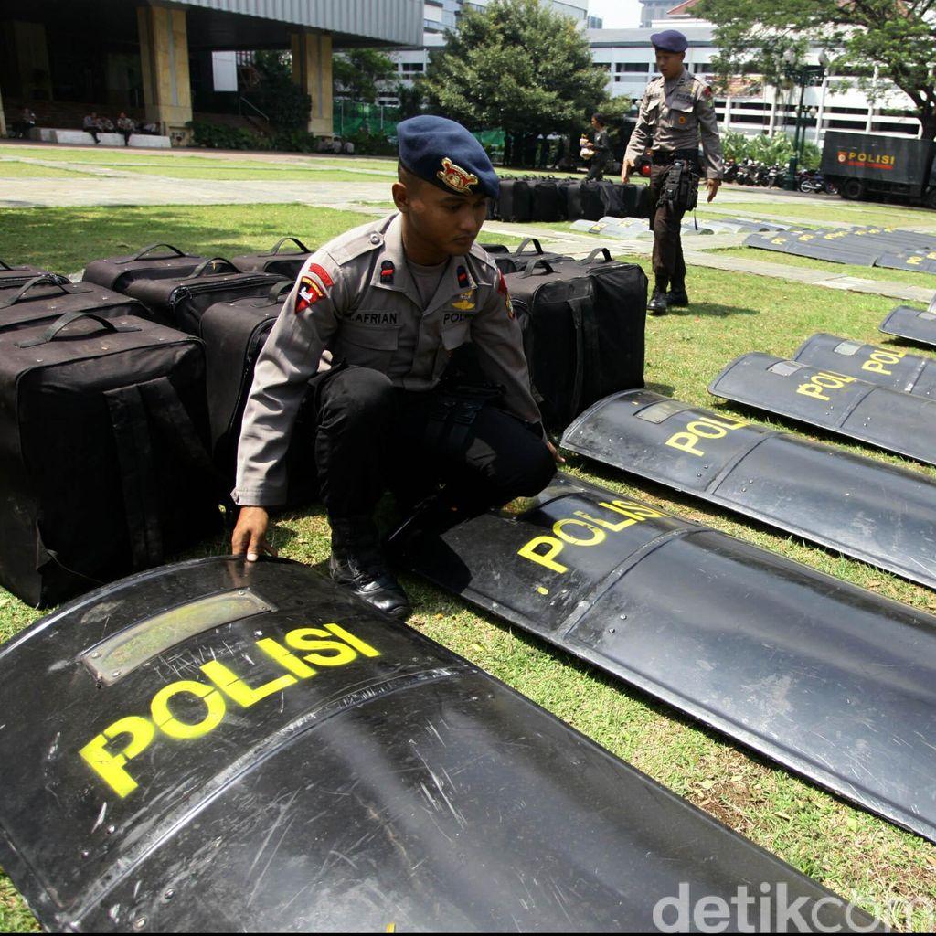 Anggota Brimob Polda Riau Keracunan Makanan Saat Latihan
