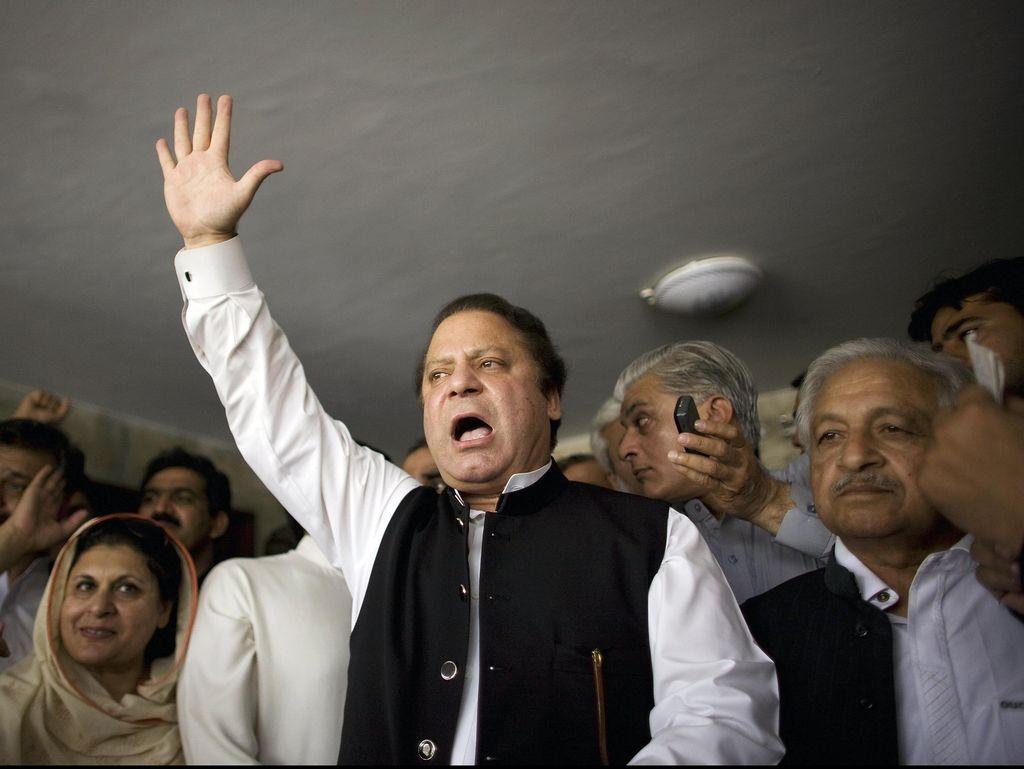 Coba Terobos Konvoi Mobil PM Sharif, Pria Pakistan Ditahan