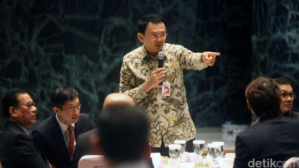 Tak Mau Aset Jakarta Digarong Oknum BPN, Ahok Temui Menteri Sofyan Djalil