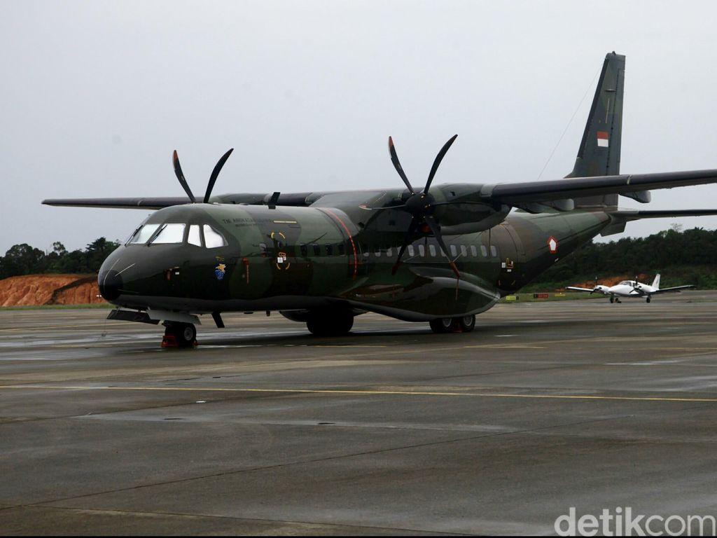 3 Pesawat Pengangkut Jenazah Hercules Jatuh Diberangkatkan ke Medan
