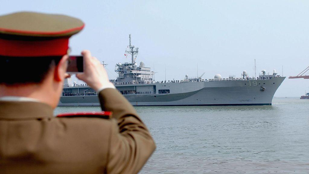 Diprotes China, AS Sebut Pelayaran di Laut China Selatan Tak Langgar Hukum