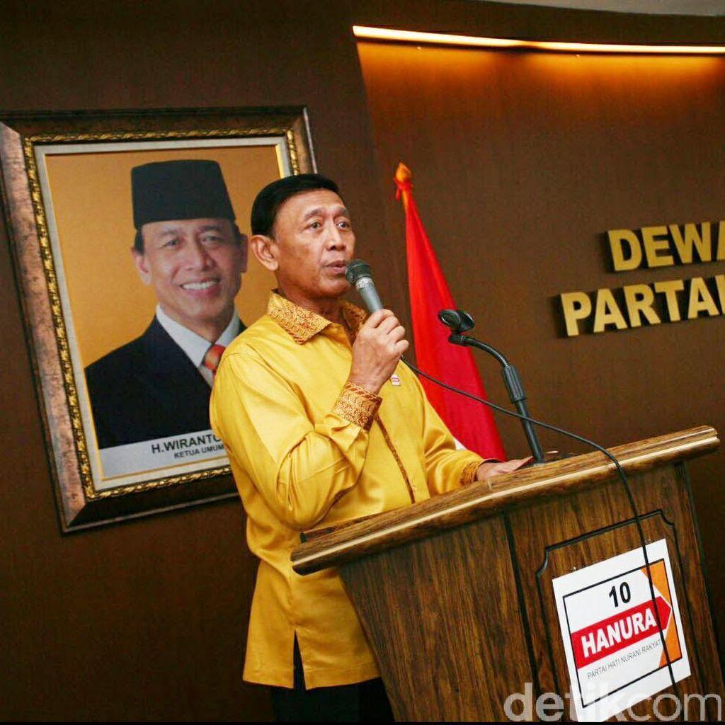 Jadi Menko Polhukam, Wiranto Izin ke Kader Hanura: Saya Tak Tinggalkan Partai