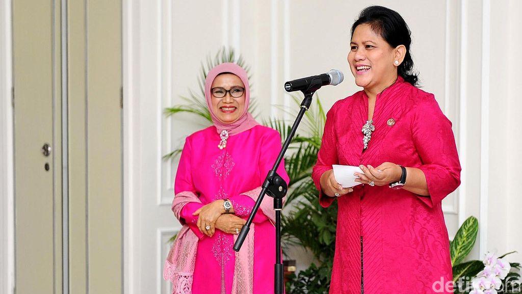 Ibu Negara Iriana Minta Peringatan Hari Ibu Dilakukan di Kupang