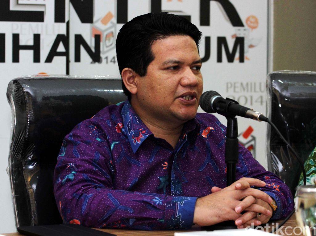 Soal Calon Tunggal, Ketua KPU: Parpol yang Selesaikan Masalahnya