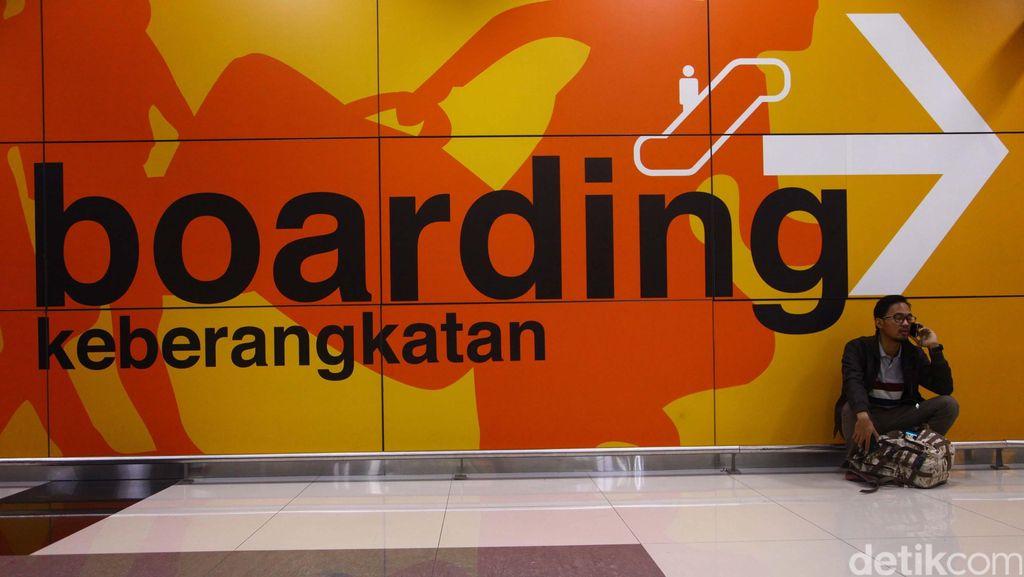Terminal 3 Bandara Soekarno Hatta Sempat Mati Lampu