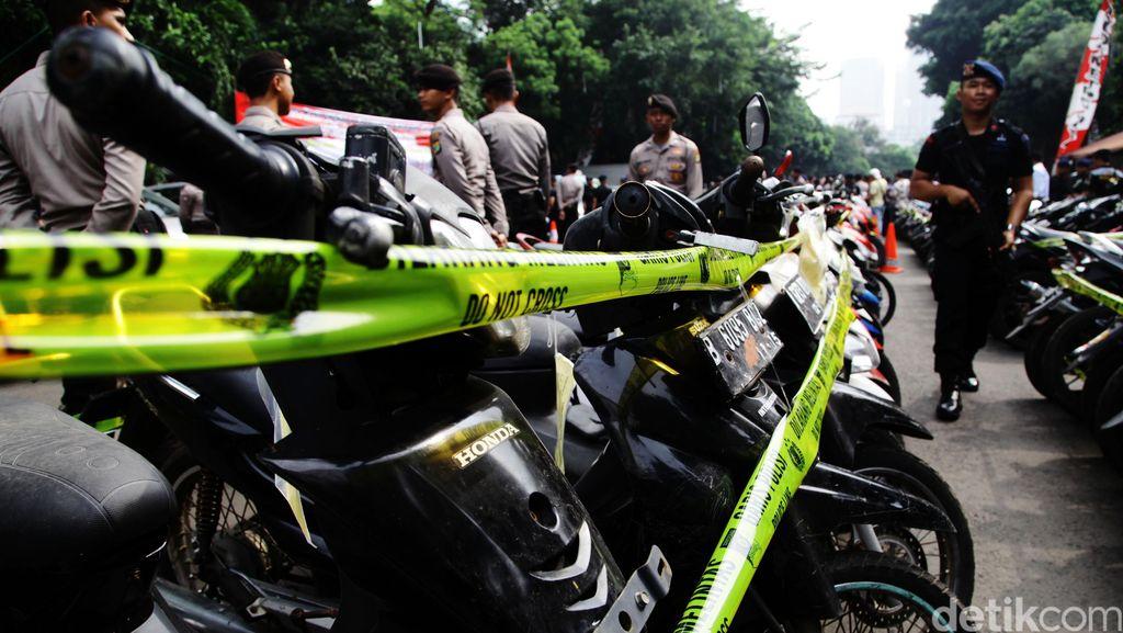Ringkus Pelaku Curanmor di Tj Priok, Polisi Amankan 31 Unit Sepeda Motor