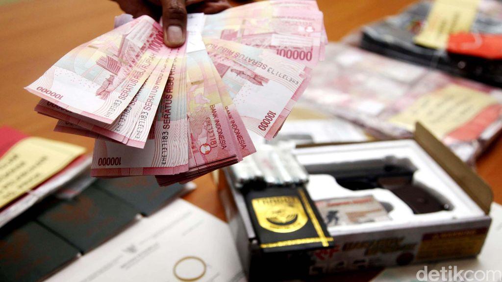 Polisi Tangkap 2 Pembuat Uang Palsu, Sita 400 Lembar Pecahan Rp 50 Ribu