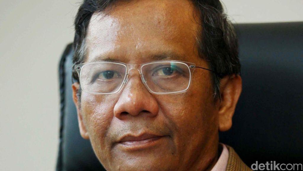 Kata Mahfud MD, Momen Revisi UU KPK Sangat Tidak Pas