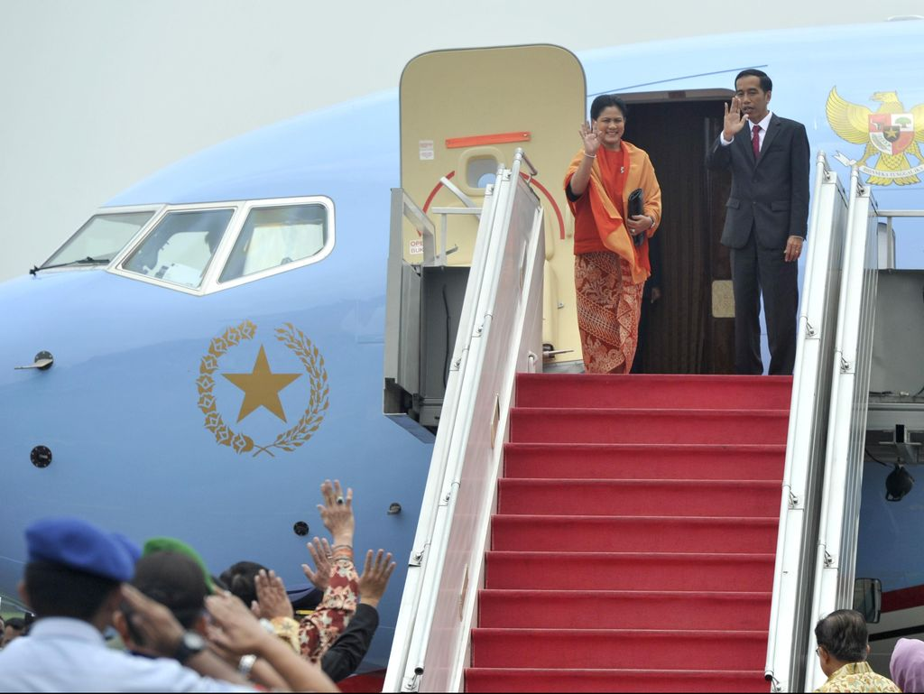 Presiden Jokowi Terbang ke Singapura Hari Ini