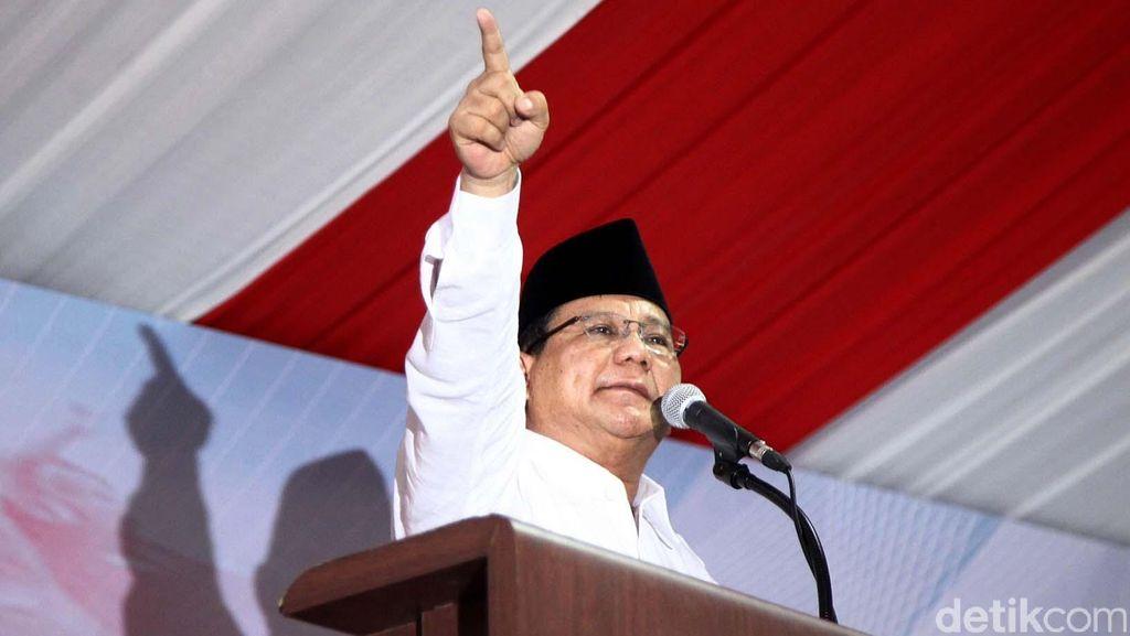 Prabowo Subianto akan Hadir di Penjaringan Cagub DKI 15 Januari