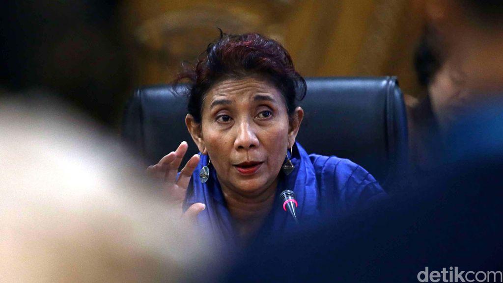 Menteri Susi: Surat Izin 208 Kapal Tangkap Ikan Dicabut