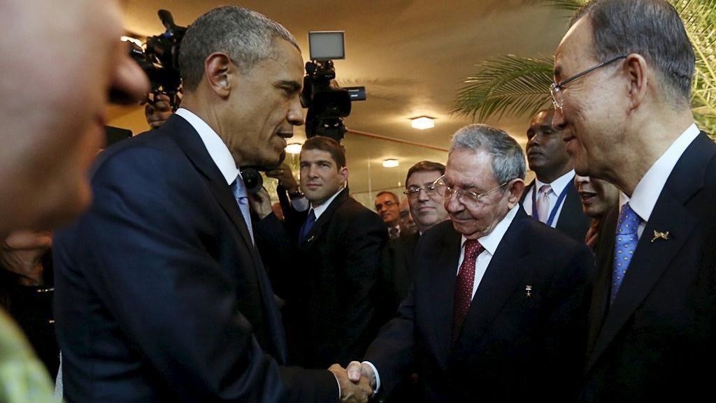 Bertemu Raul Castro untuk Kedua Kali, Obama Ingin Hentikan Embargo untuk Kuba