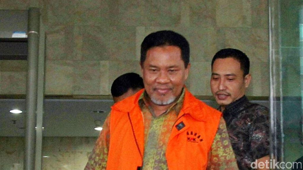 Hukuman Bupati Lombok Barat di Kasus Pemerasan Diperberat