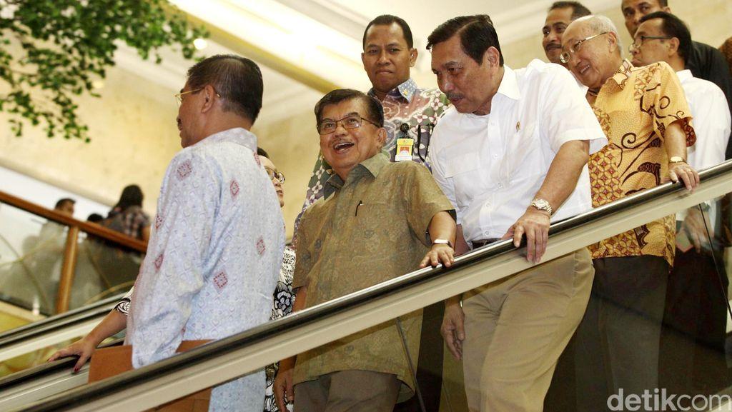 JK Soal Reshuffle Kabinet: Tunggu dan Sabar