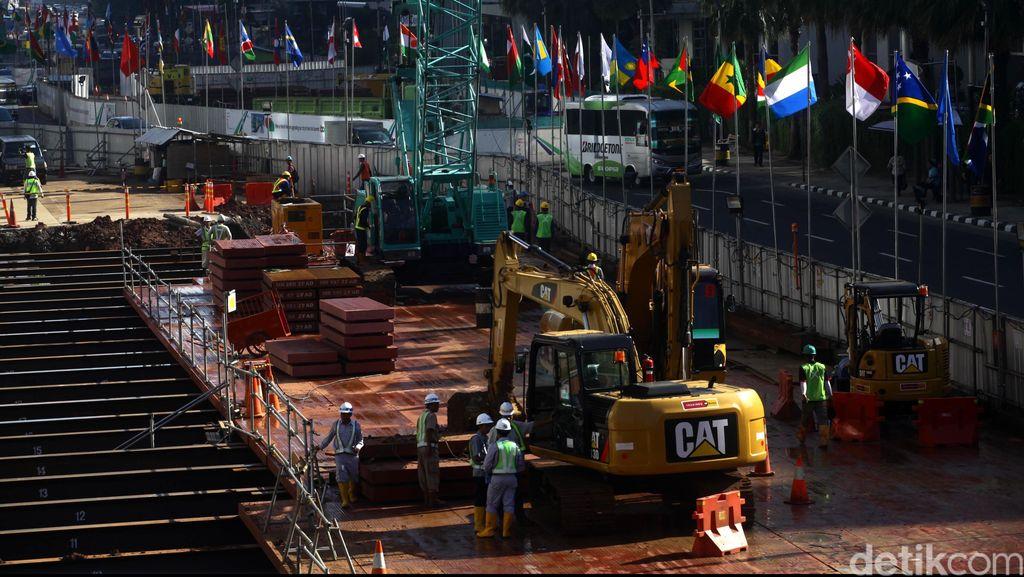Bor Bawah Tanah MRT Akan Dioperasikan, Ini Pengalihan Arusnya