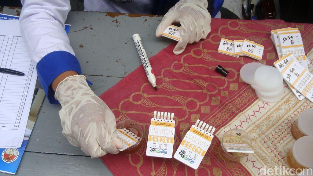 BNNP Sulteng Sidak di Terminal Mamboro, 1 Sopir Bus Kabur Saat Tes Urine