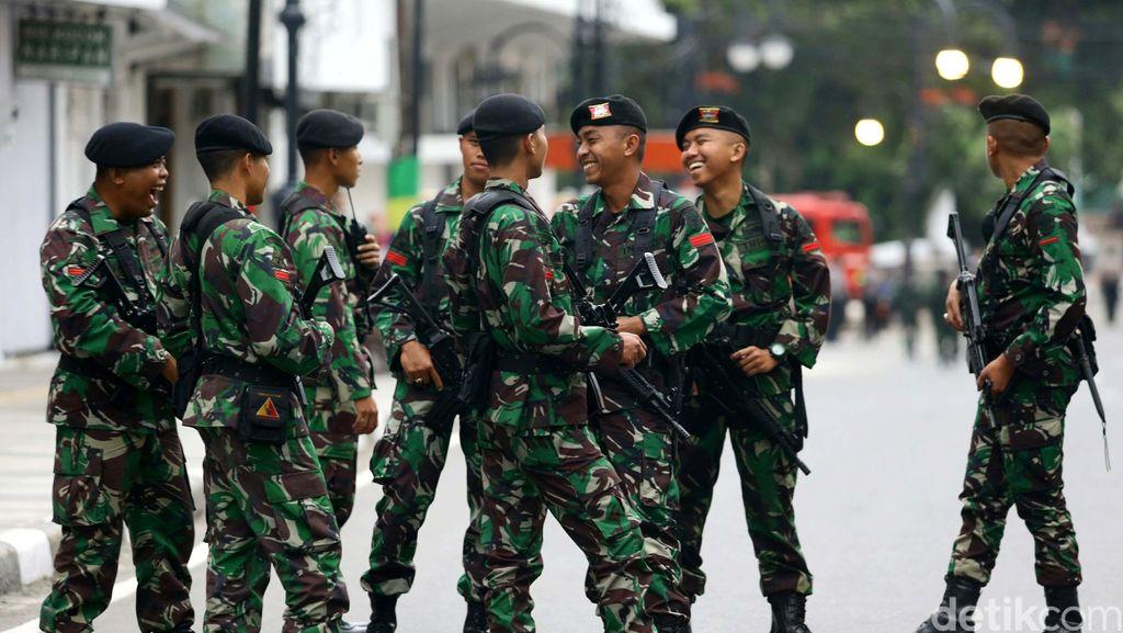 Pesepakbola Tentara, Jadi Andalan Pekan Olahraga Sampai Pangkat Bintang
