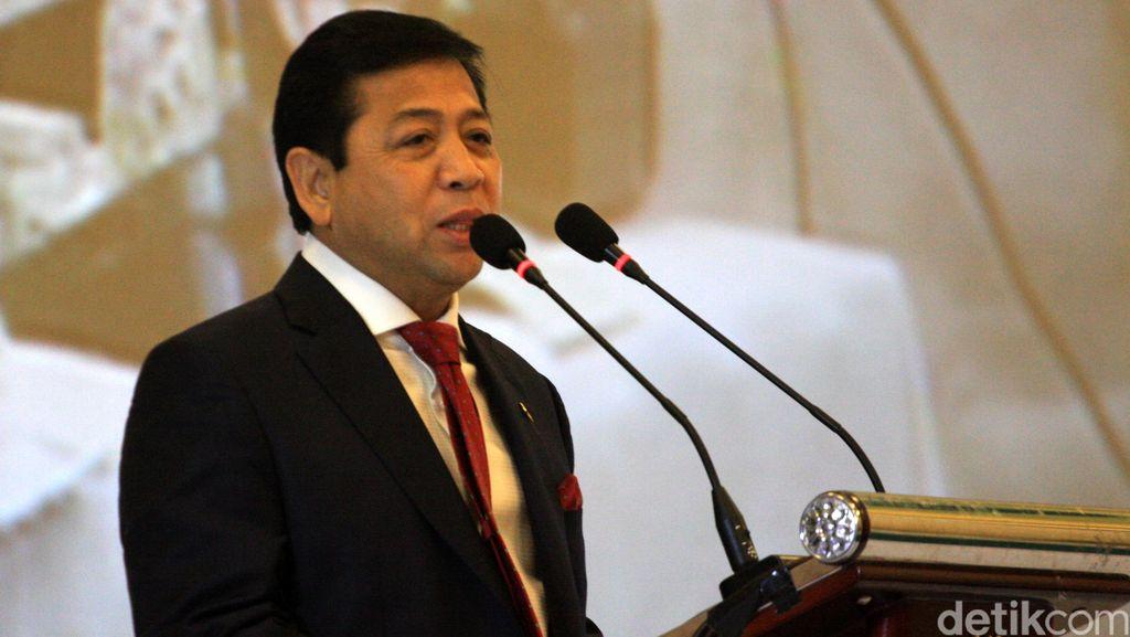 Novanto Bertemu Ical Bahas Hubungan KMP-KIH Hingga Reshuffle