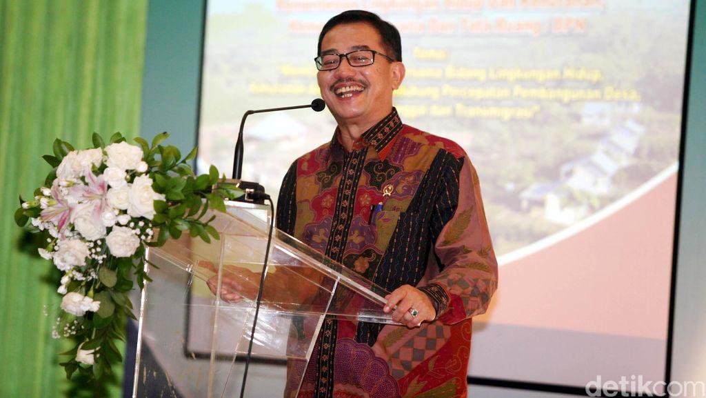 Kementerian Agraria Tata Ruang dan Badan Pertanahan Nasional Luncurkan Layanan 70-70