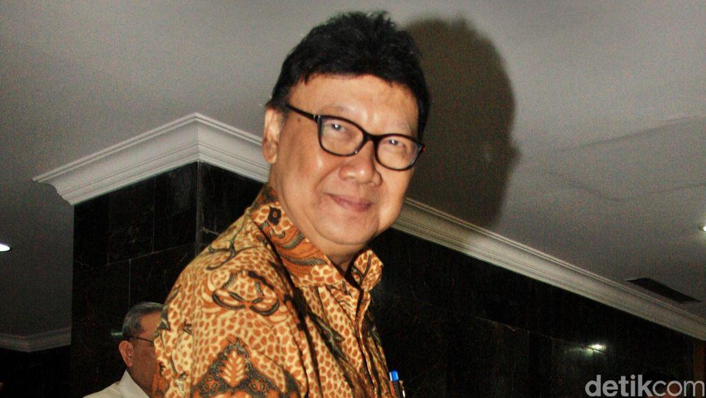 Soal Reshuffle, Tjahjo: Kami Harus TNI