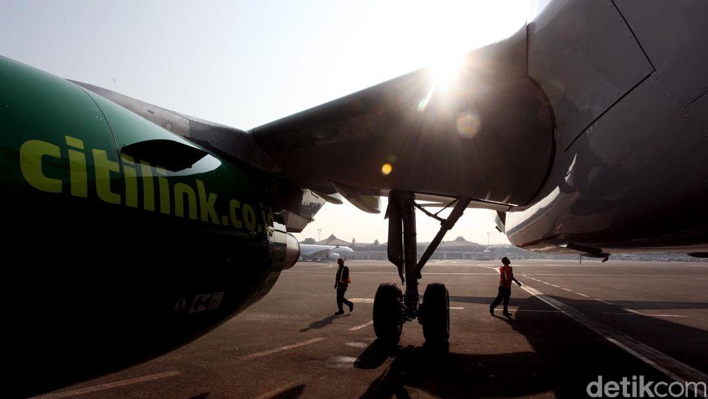 Citilink Sempat Kesulitan Mendarat di Pekanbaru Gara-gara Kabut Asap