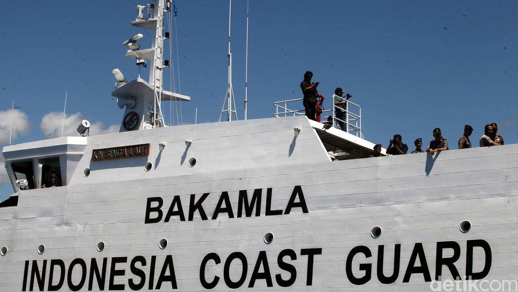 Bakamla: Kapal Ikan dan Kapal Tanker Ilegal Banyak Berlayar di Natuna