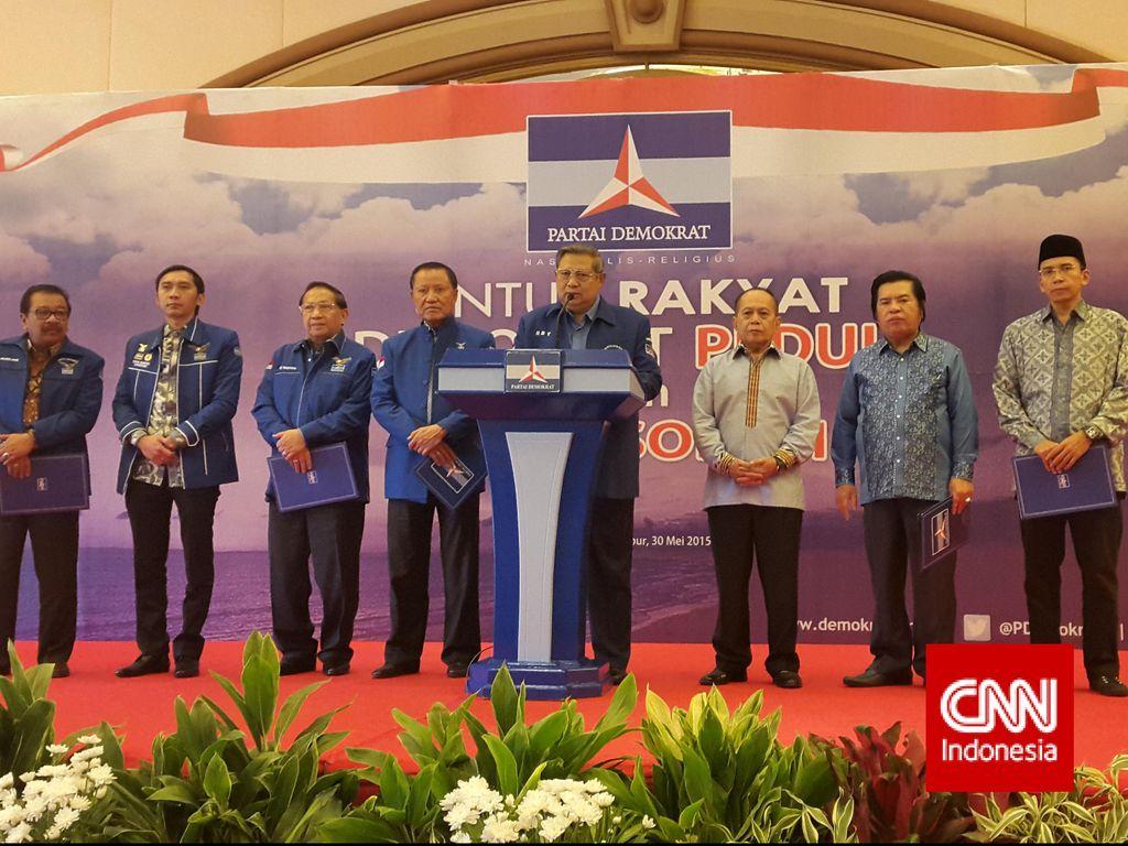 SBY Lantik Pengurus Baru dan Buka Rapimnas PD Sabtu Besok