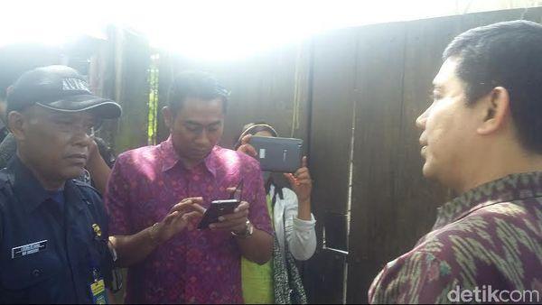 Datang ke Rumah Angeline di Bali, Menteri Yuddy Diusir Satpam