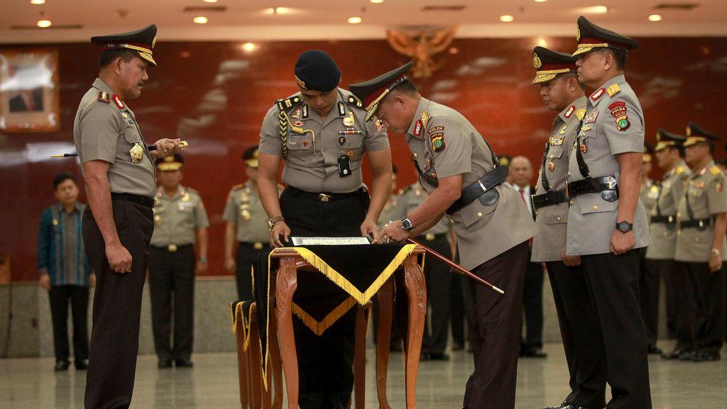 Ini Amanat Kapolri untuk Kapolda dan Perwira Tinggi yang Dilantik