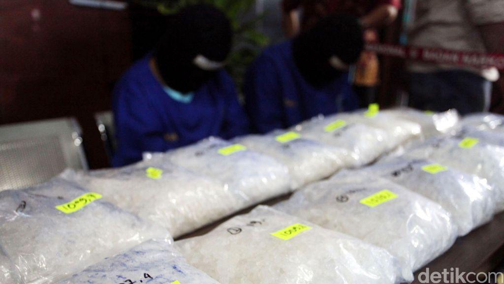 BNN Tangkap 2 Pemilik 10 Kg Sabu di Asahan Sumut
